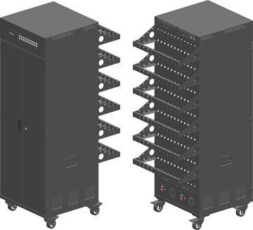 图片 KS-144MIX 144路高清混合信号插卡式主机