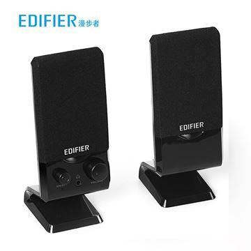 图片 漫步者(EDIFIER)黑色 音箱/R10U 2.0声道 多媒体音箱 一年保修