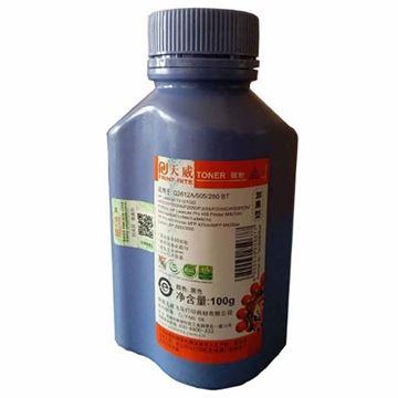 图片 天威(PrintRite) 碳粉 HPQ2612A 专业装(红包) 适用于HP-2612/505/280-100克-加黑碳粉-手提版 黑色