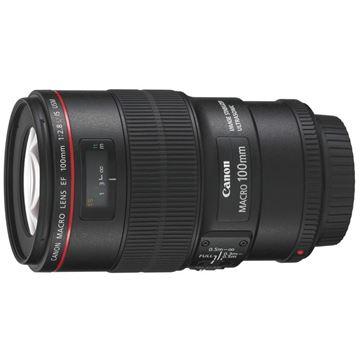 图片 佳能镜头 EF 100mm F/2.8L IS USM 黑色