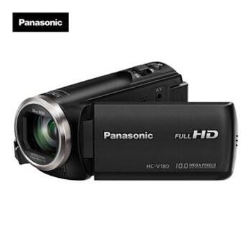图片 松下(Panasonic) V180家用/直播高清数码摄像机 /DV/摄影机/录像机 90倍智能变焦、5轴防抖、大广角录制