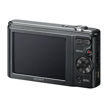 图片 索尼(SONY) DSC-W800 便携数码相机/照相机/卡片机 黑色(约2010万像素 5倍光学变焦 2.7英寸屏 26mm广角)