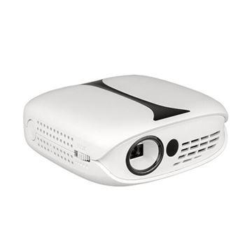 图片 瑞格尔 RD-606 投影机 手机便携式 兼容4K/1080P 内置电池 无线同屏 梯形校正 白色(计价单位:台)