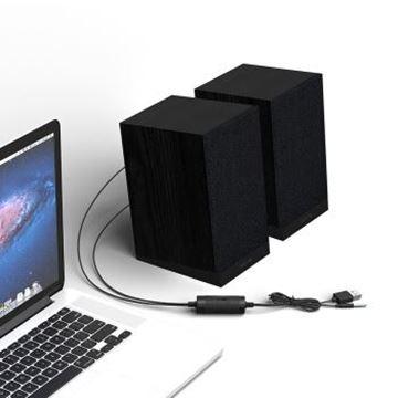 图片 飞利浦(PHILIPS)SPA36B 音箱音响家用电脑台式usb笔记本多媒体手机重低音炮迷你小音箱桌面游戏震撼音响