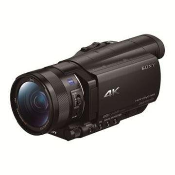图片 索尼(SONY)FDR-AX100E 4K高清数码摄像机 1英寸CMOS 光学防抖 12倍光学变焦 蔡司镜头 支持WIFI/NFC传输