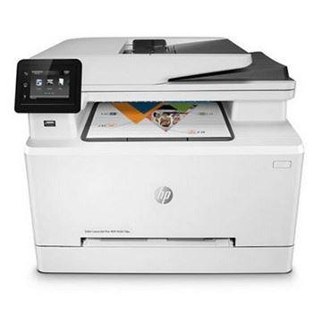 图片 惠普(HP)Colour LaserJet Pro M281fdw A4彩色激光多功能一体机 打印/复印/扫描/传真 有线/无线网络打印 21页/分钟 自动双面打印 标配进纸盒*1+输稿器*1 不含工作台 适用耗材:CF500A-CF503A(四色)一年保修