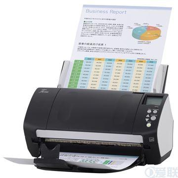 图片 富士通(FUJITSU) FI-7140 扫描仪 A4幅面 速度40ppm/80ipm 色彩24位 分辨率600dpi 馈纸式 双面自动 一年保修