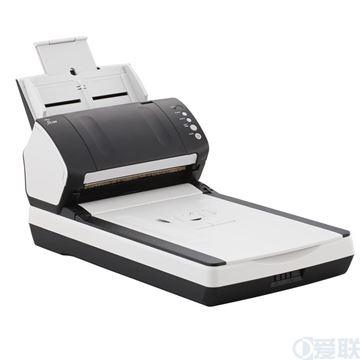 图片 富士通(FUJITSU) Fi-7240 A4高速双平台扫描仪